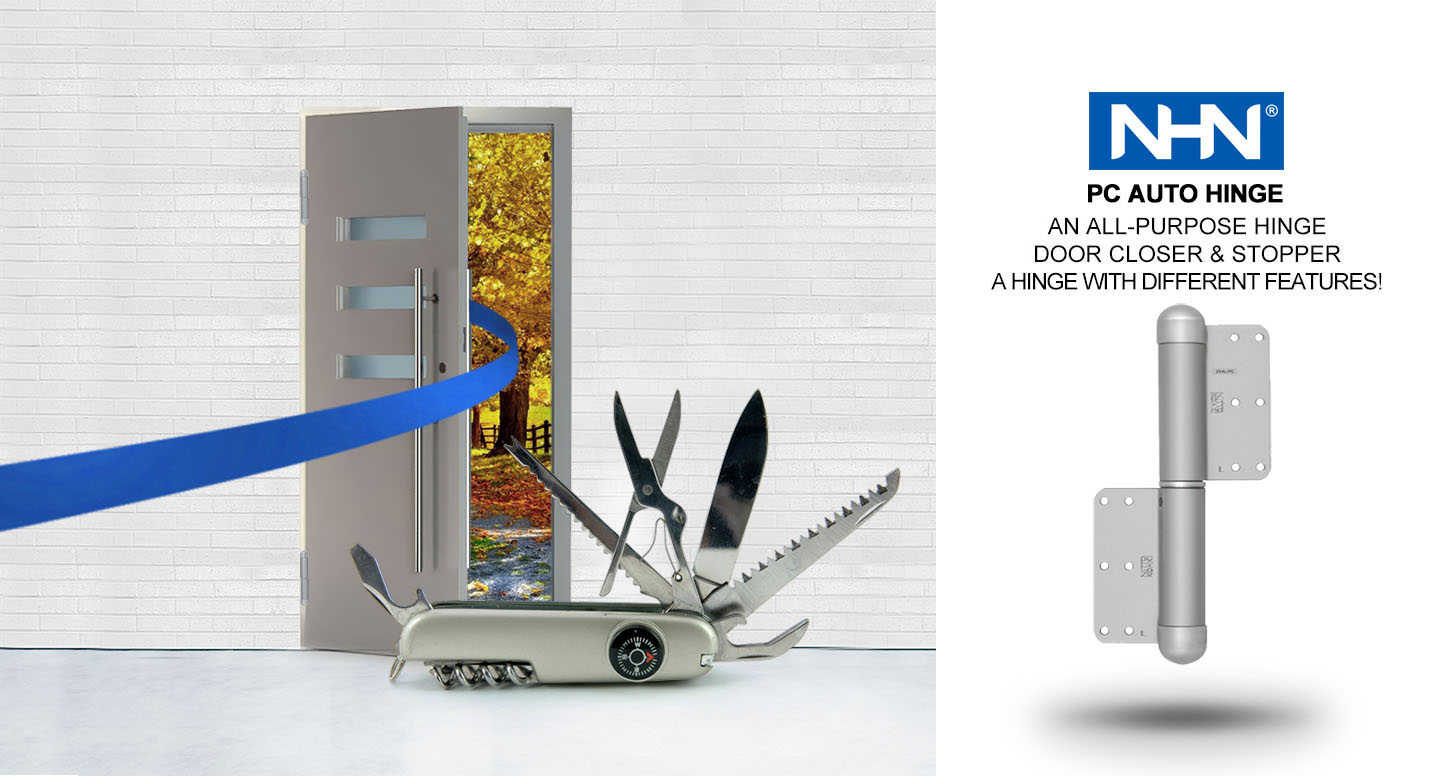 auto hinge door closer
