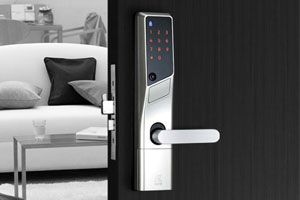 Digit Lever type - Digital Door Lock Kenwa Product