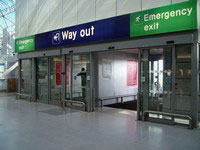 NHN Company Automatic Door Project For Airports And Stations , num10