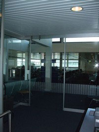 NHN Company Automatic Door Project For Airports And Stations , num7